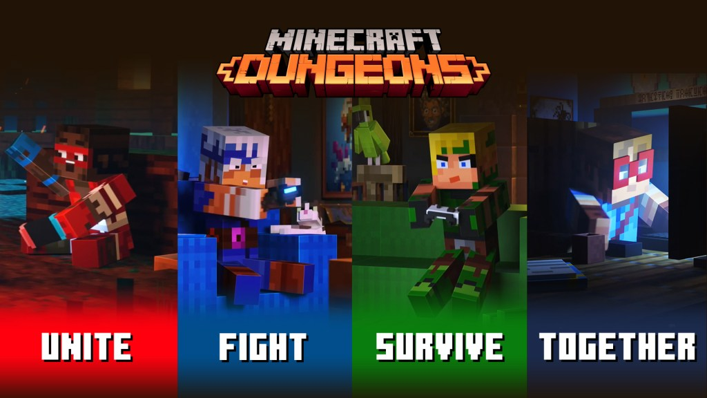 Captura de Minecraft Dungeons